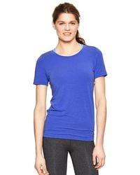 Gap Fit Breathe Crew T - Lyst