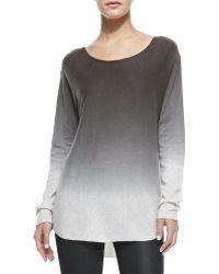 Elie Tahari Cashmere Raina Degrade Sweater - Lyst