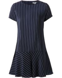 Amour Vert Striped Dropped Waist Dress - Lyst