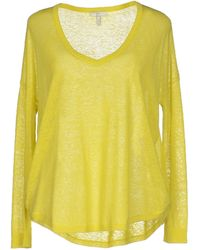 Joie Jumper yellow - Lyst