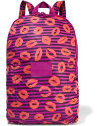 Marc By Marc Jacobs - Printed Shell Backpack - Lyst