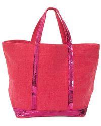 Vanessa Bruno Cabas Moyen Linen Bag - Lyst