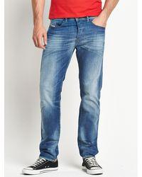 Diesel Mens Buster 831d Regular Slim Tapered Jeans - Lyst