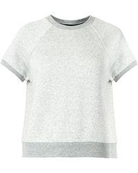 Rag & Bone Rocky Shortsleeved Sweatshirt - Lyst
