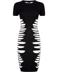 McQ by Alexander McQueen Slashed Dress - Lyst