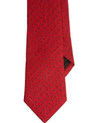 Band Of Outsiders Commapattern Jacquard Neck Tie - Lyst