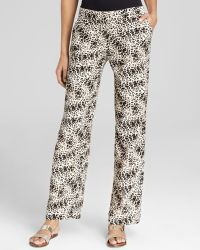 Vince Camuto Animal Legacy Wide Leg Pants - Lyst