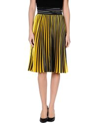 Christopher Kane Knee Length Skirt - Lyst