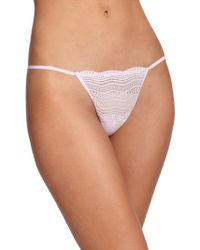 Cosabella Dolce Lace String Thong - Lyst