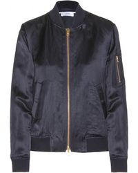 Closed Queens Satin Bomber Jacket - Lyst