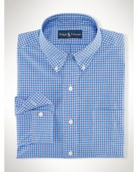Polo Ralph Lauren Classic Checked Sport Shirt - Lyst