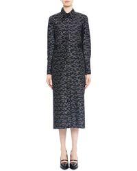 Maiyet Handwoven Panel Side Shirt Dress - Lyst