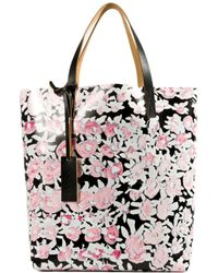 Marni Floral-Print Tote - Lyst