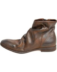 H by Hudson Freddie Calf Boot In Tan brown - Lyst