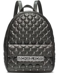 Michael by Michael Kors Kim Leather Studded Medium Backpack - Lyst