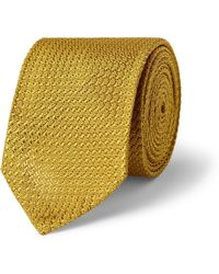 Dunhill Mulberry Silk Tie - Lyst