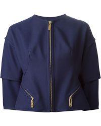 Kenzo Cropped Jacket - Lyst