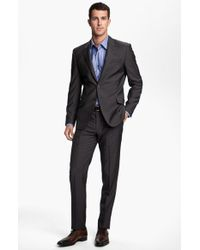 Paul Smith Wrinkle Free Stretch Wool Travel Suit - Lyst