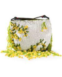 Valentino Vintage Sequin and Bead Embellished Handbag - Lyst
