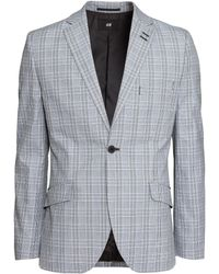 H&M | Cotton Jacket Skinny Fit | Lyst