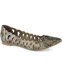 Mia Animal Nomad Flats - Lyst