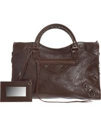 Balenciaga Arena Classic City brown - Lyst