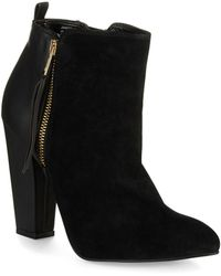 Steve Madden Jannyce Ankle Boots - Lyst