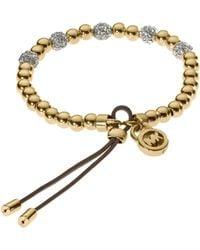 Michael Kors Bead Stretch Bracelet - Lyst