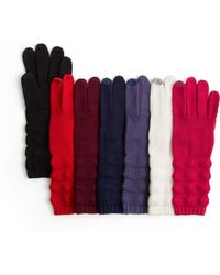 Echo - Knit Touch Gloves - Lyst