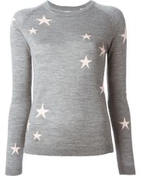 Chinti & Parker Star Intarsia Sweater - Lyst
