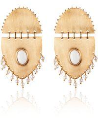 Paula Mendoza Jarama Pearl Earrings - Lyst
