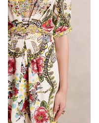 Collette Dinnigan - Scenic Silk Dress - Lyst