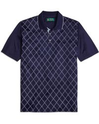 Brooks Brothers St Andrews Links Raker Polo Shirt - Lyst