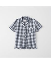 Abercrombie & Fitch - Patterned Pajama Shirt - Lyst