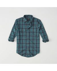 Abercrombie & Fitch - Flannel Shirt - Lyst