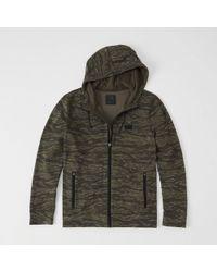 Abercrombie & Fitch - Sport Full-zip Hoodie - Lyst