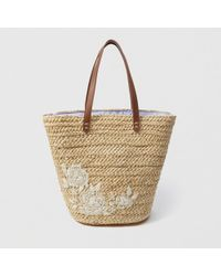 Abercrombie & Fitch - Embroidered Tote - Lyst
