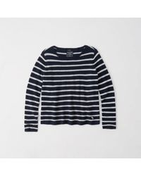 Abercrombie & Fitch - Cashmere Boatneck Sweater - Lyst