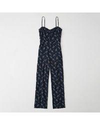 Abercrombie & Fitch - Floral Jumpsuit - Lyst