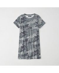 Abercrombie & Fitch - T-shirt Dress - Lyst
