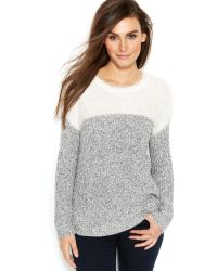 Vince Camuto Two by Marled Colorblock Sweater - Lyst