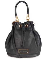 Marc By Marc Jacobs Too Hot Leather Bucket Bag - Lyst