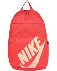 5cdbf114d843f Nike - Rucksack mit Schriftzug - Lyst