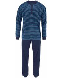 Seidensticker - Pyjama lang im modischem Streifendesign - Lyst