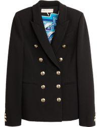 Emilio Pucci Stretch Knit Jacket - Lyst