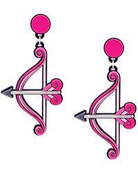 Yazbukey - 'bow&arrow' Earrings - Lyst