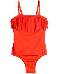 Seafolly Tutti Cutie One-piece Swimsuit W/ Fringe - Lyst