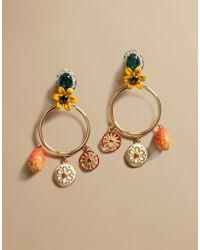 Dolce & Gabbana | Drop Earrings With Sicilian Cart | Lyst