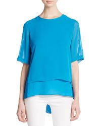 Chaus New York - Double Layered Top - Lyst