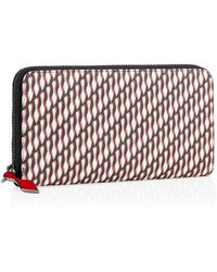 Christian Louboutin Panettone Wallet red - Lyst